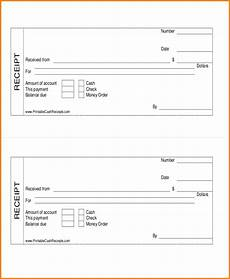 7 cash payment receipts simple salary slip