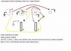 jazz bass series wiring without a switch talkbass jazz bass series wiring without a switch talkbass com