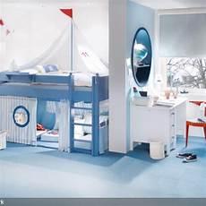 Exklusives Komplett Umbaubares Kinderbett Segelboot In