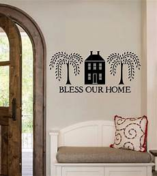 home decor decals bless our home vinyl decal wall sticker words lettering