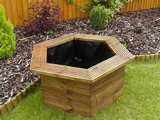bassin de jardin hors sol en bois