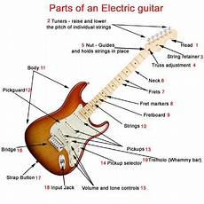 parts of an electric guitar what makes a electric guitar unique