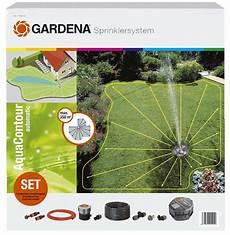 Gardena Vielflächen Versenkregner - gardena komplett set mit vielfl 228 chen versenkregner