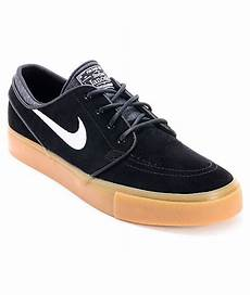 nike sb zoom stefan janoski black gum suede shoes