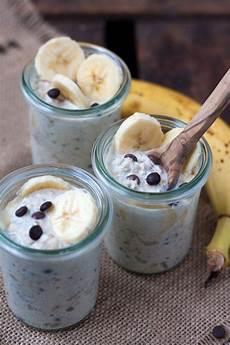 overnight oats rezepte bananen schoko overnight oats rezept sweet oatmeal
