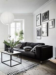 Home Decor Ideas White Walls by Living Room In Black White And Gray With Gallery