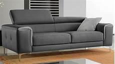 canapé cuir convertible 3 places pas cher canap 233 3 places convertible gris royal sofa id 233 e de