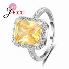 jexxi simple elegant party rings with cubic zircon