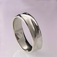 waves no 5 platinum ring platinum wedding ring platinum wedding band men s wedding band