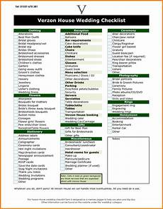11 wedding reception checklist card authorization 2017