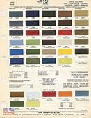 70 74 Dodge Paint Color Chip Charts Challenger – E Bodies