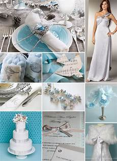 Blue And Silver Winter Wedding Ideas