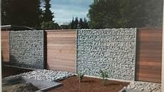 Gabionen Mit Holz Kombiniert Id 233 Es De Cl 244 Ture
