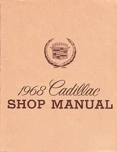 small engine service manuals 2001 cadillac eldorado head up display 1968 cadillac factory shop manual