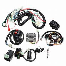 Electrics Wiring Harness Wire Loom Atv 125 150 200