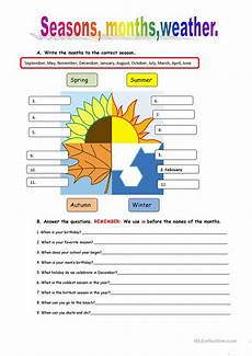 seasons worksheets printable 14749 seasons and weather worksheet free esl printable worksheets made by teachers