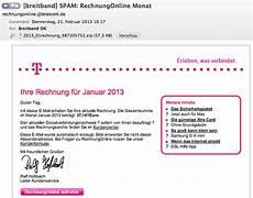 vorsicht malware spam welle mit gef 228 lschten telekom
