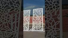 porte d entrée en metal porte m 233 tallique d 233 signe d 233 coupe laser