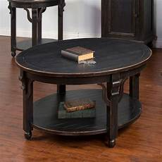 Black Distressed Coffee Table