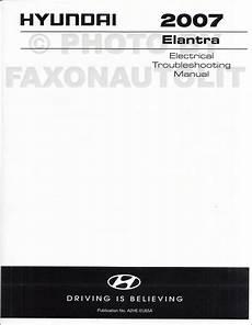 car repair manuals download 2007 hyundai elantra interior lighting 2007 hyundai elantra repair shop manual 2 volume set factory reprint