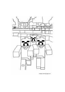 Minecraft Malvorlagen Mod Minecraft Coloring Pages