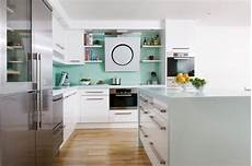seagrass corian 174 worktops give this kitchen the wow factor