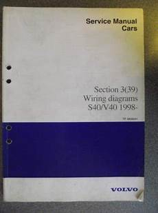 1992 volvo s40 engine diagram details about volvo s40 v40 wiring diagram manual 1998 tp3935031 volvo s40 volvo manual