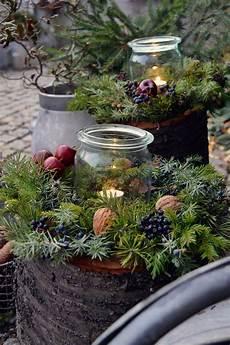 weihnachtsdeko noch mehr auf den baumstamm gekommen ein diy und noch viel mehr