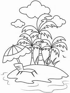 Bilder Zum Ausmalen Insel Kostenlose Ausmalbilder Und Malvorlagen Sommer Zum