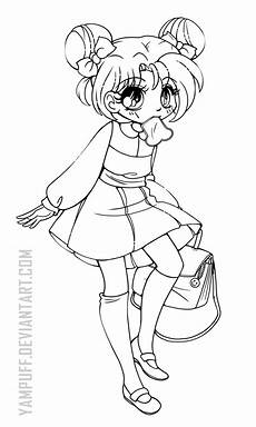 coloring pages chibi 14923 pin on awesome lineart