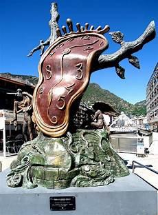 salvador dali clock sculpture 183 free photo on pixabay