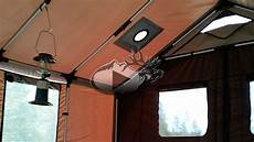 wall tent lighting new innovative wall tent youtube