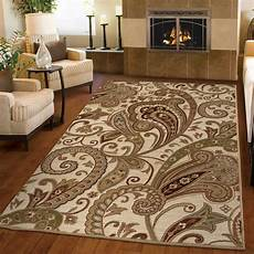 Kitchen Area Rugs Walmart by Ottomanson S Kitchen Paisley Beige Area Rug Walmart