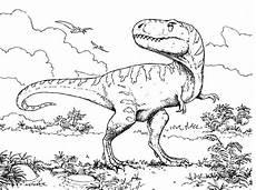Einfache Malvorlage Dinosaurier Dinosaurier Zum Ausmalen Schult 252 Te Dinosaurier Zum