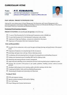 project engineer civil resume rev 0 dated 24 june 2016
