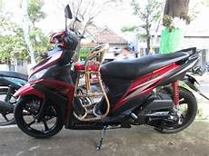 Mio Z Modifikasi by Modifikasi Mio Z Touring Modifikasi Motor Kawasaki Honda