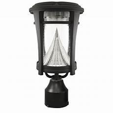 shop gama sonic 13 in h black solar led light at lowes com