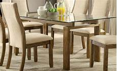 onway oak rectangular glass top dining room from furniture of america coleman furniture