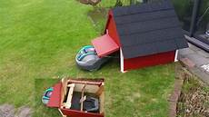 Garage Für Mähroboter Gardena - automower garage mit tor f 252 r gardena r40 li