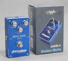 noise gate ang noise gate guitar effect pedal true bypass low power consumption new ebay