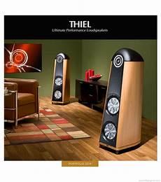 Thiel Audio Ultimate Performance Loudspeakers Product