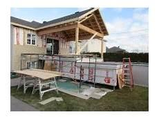 Construction D Une Terrasse Avec Toiture Cath 233 Drale