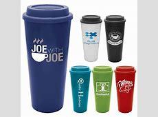 Promotional 20 oz. Java Plastic Tumbler with Lid
