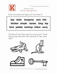 letter k recognition worksheets 24411 conctelstravli words that begin with k
