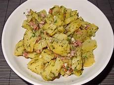 kartoffelsalat mit speck warmer kartoffelsalat mit speck rezept mit bild