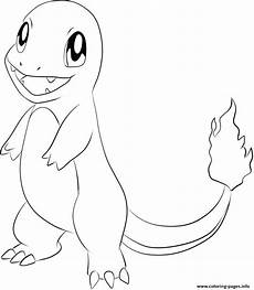 004 charmander coloring pages printable