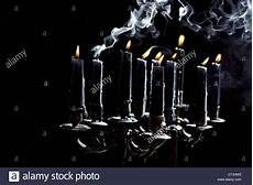 candele nere black candles in candle holder stock photo 39135630 alamy
