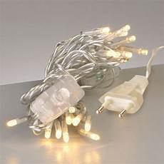 mini led lichterkette m schalter 20er transparent linear