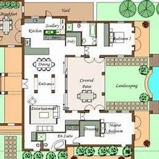 u shaped house plans with courtyard pool typical u shaped house plan pool house plans house