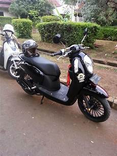 Scoopy Modif Vespa by Dunia Modifikasi Kumpulan Modifikasi Motor Honda Scoopy